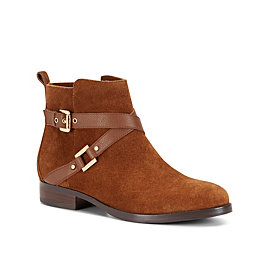 Casual Flat Buckle Bootie