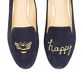 Bee Happy Smoking Slipper