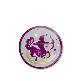 Sagittarius Zodiac Glass Plate