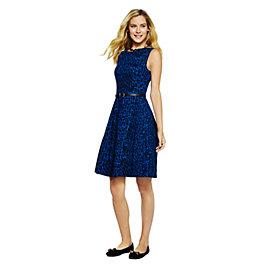 Leopard Print Flare Dress